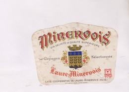 ETIQUETTE DE VIN MINERVOIS - Vin De Pays D'Oc