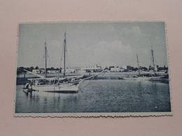 HOUMT-SOUK Ile De DJERBA - Le Port Et La DOUANE ( 29 ) CAP ( Ali Loukil ) Anno 19?? ( Zie Foto Voor Details ) ! - Tunisie