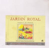 ETIQUETTE DE VIN JARDIN ROYAL, DPT 01 - Red Wines