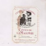 ETIQUETTE DE VIN COTES DE LA MELEPERE - Vin De Pays D'Oc