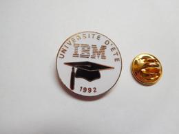 Beau Pin's En EGF , Informatique , Université D'été IBM 1992 , Non Signé - Computers