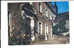 LA MELLERAY Abbaye - Façade Du Monastère + Flamme Mécanique 1971 - France