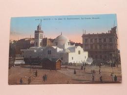 La Place Du Gouvernement. La Grande Mosquée ( 9100 - A.D.I.A. ) Anno 1932 ( Voir Photo ) ! - Alger
