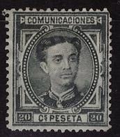 ESPAÑA. EDIFIL 176. MNG(*) NUEVO SIN GOMA. BIEN CONSERVADO - 1875-1882 Reino: Alfonso XII