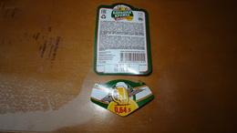Bolszaja Kruszka 0,65l KAZAKHSTAN - Beer Label/ Bieretikette / étiquette Bière Top And Back - Beer