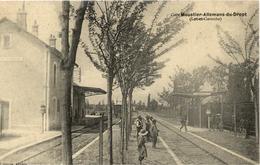 47 Gare MOUSTIER - ALLEMANS-DU-DROPT - Animée - Train - Francia