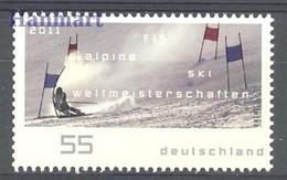 Germany - Federal Republic 2010 Mi 2834 MNH ( ZE5 GRM2834 ) - Skiing