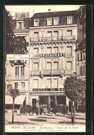 CPA Strasbourg, Hotel Du Rhin, 7 Place De La Gare - Strasbourg