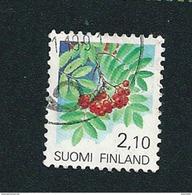 N° 1092 Sorbier 2.10  Timbre Finlande (1991) Oblitéré - Finlande
