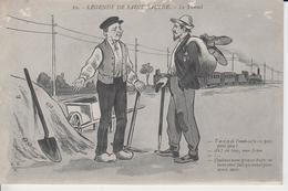 NIEVRE - LEGENDE DE SAINT SAULGE -  10 -  Le Tunnel - Carte écrite En 1916 ) - Autres Communes
