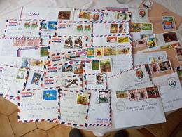 Lot De 40 Lettres Republique Centre Afriquaine  ATTENTION Pas De Paypal - Repubblica Centroafricana
