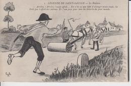 NIEVRE - LEGENDE DE SAINT SAULGE - 5 -  Le Rouleau  ( - Carte écrite En 1916 ) - Autres Communes