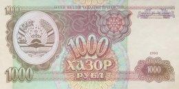 Tadjikistan 1.000 Ruble, P-9a (1994) - UNC - Tadschikistan