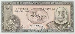 Tonga 1/2 Pa'anga, P-18c (28.7.1983) - UNC - Tonga