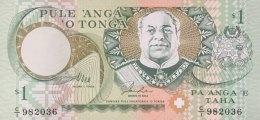 Tonga 1 Pa'anga, P-31a (1995) - UNC - Tonga