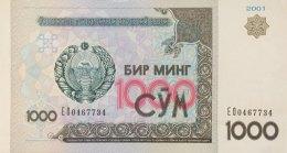 Uzbekistan 1.000 Som, P-82 (2001) - UNC - Uzbekistán