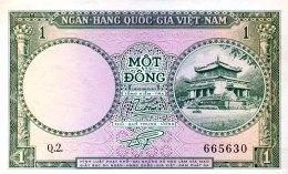 Vietnam South 1 Dong, P-1a (1956) - UNC - Vietnam