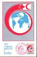 Croce Rossa -Red Cross - Croix Rouge, 2 Cards 1988 (val.4 - Val. 30) Jugoslavia - Storia Postale