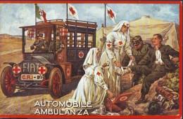 "Croce Rossa -Red Cross - Croix Rouge, ""Ambulance ""  1989  Bergamo - 1981-90: Storia Postale"