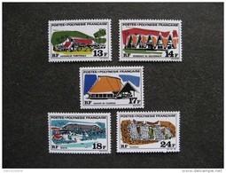 Polynésie: TB Série N° 72 Au N° 76 ,neufs XX . - Neufs