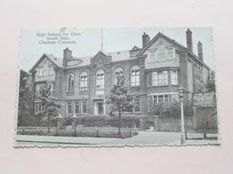 High School For GIRLS South Side CLAPHAM COMMON ( E J Owen ) Anno 19?? ( Voir Photo ) ! - London Suburbs