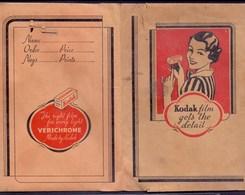 KODAK - AdVERT. Photo Bags  - Cc 1925 - Photography