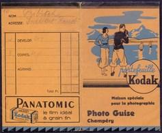 KODAK - AdVERT. Photo Bags  Photo  GUISE  Champery France  - Cc 1925 - Photography