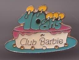 Pin's 10 Ans Du Club Barbie  Gateau D'anniversaire Réf 447 - Pin's