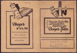 BAYER  FILM - AdVERT. Photo Bags Fur Sportaufnahmen  Germany  - Cc 1925 - Photography