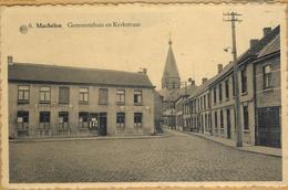Op-418: ALBERT 6 Machelen  Gemeentehuis En Kerkstraat  - AFSPANNING - Andere