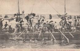 Ceylon  Pearl Fishing Divers At Work  Cy185 - Sri Lanka (Ceylon)