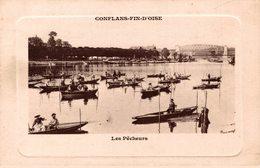 REF 2269-2018   CONFLANS FIN D OISE  LES PECHEURS - Conflans Saint Honorine
