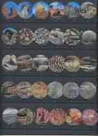 357 A - Evolutions (Roche Pierre) Serie Complete De 30 Opercules Suisse - Opercules De Lait