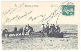 Cpa Valras La Plage - La Traine - France