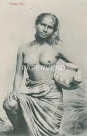 Ceylon  Rodiya Girl Topless  Cy187 - Sri Lanka (Ceylon)