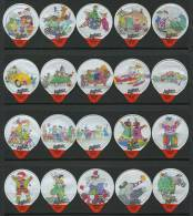 361 A - Joujoux - Serie Complete De 20 Opercules Suisse - Opercules De Lait