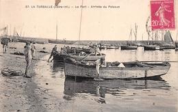 ¤¤  -  LA TURBALLE   -   Le Port   -  Arrivée Du Poisson    -  ¤¤ - La Turballe