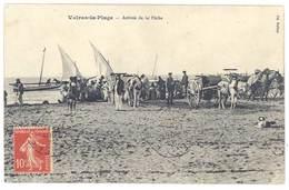 Cpa Valras La Plage - Arrivée De La Pêche - France