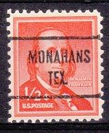 USA Precancel Vorausentwertung Preo, Locals Texas, Monahans 724 - Vereinigte Staaten