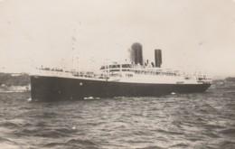PAQUEBOT  ATOS II - Steamers