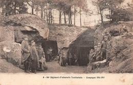 02 ? à Situer Grotte Voir Texte 54 Régiment D'infanterie Territoriale Guerre 1914 - France