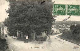 1 Cpa Avon - Le Lavoir - Avon