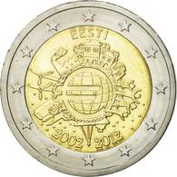 Estonia, 2 Euro, 10 Ans De L'Euro, 2012, SPL, Bi-Metallic, KM:70 - Estonia