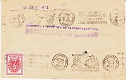 Argentine, D'avellaneda 105, En 1947, C Colon , Glorieuse Page De L'histoire Du Monde  TB - Briefe U. Dokumente