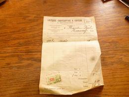 FF5  Document Commercial Laiterie Coopérative à Vapeur Seloignes 1935 - Belgium