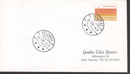 Denmark Deluxe Brotype IId BELLINGE 1981 Cover Brief (Cz. Slania) Stamp - Briefe U. Dokumente