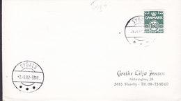 Denmark Deluxe Brotype IId SYDALS 1982 Cover Brief 150 Øre Wellenlinien Stamp VERY SCARCE Cds. !! - Briefe U. Dokumente