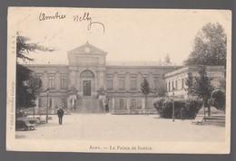 CPA - AGEN - LE PALAIS DE JUSTICE - LOT ET GARONNE 47  - Circulée 1902 - Agen