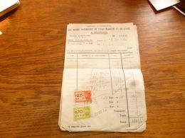 FF5  Document Commercial Les Riches Paturages Seloignes 1949 - Belgium