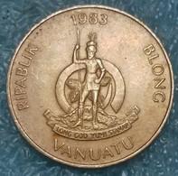 Vanuatu 5 Vatu, 1983 - Vanuatu
